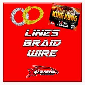 Lines - Braids - Wire