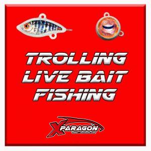 Trolling Live Bait fishing