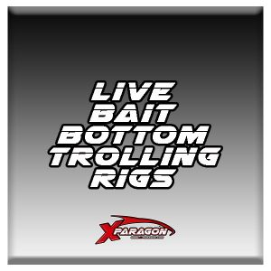 LIVE BAIT BOTTOM TROLLING RIGS